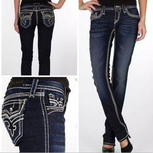 Rock Revival Kai Straight Stretch Jeans